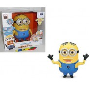 TALKING INTERACTIVE Figure MINION 20cm Minions DAVE or STUART Despicable Me MONDO Thinkway Toys