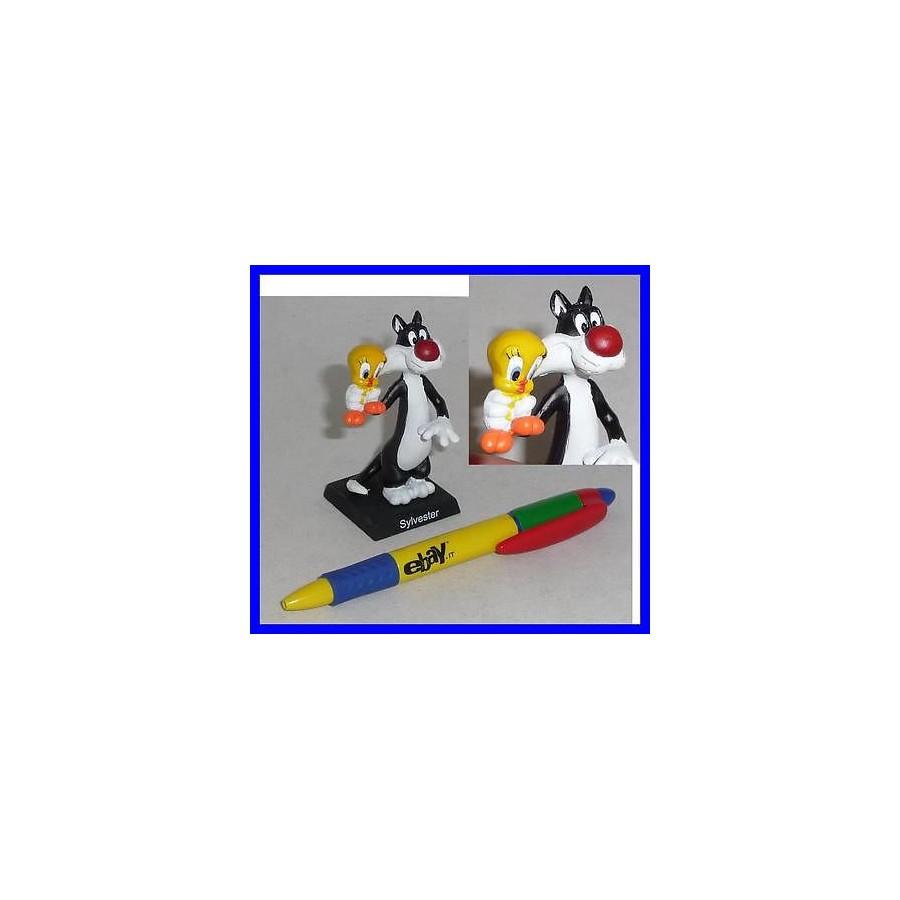 5cca400e ... Looney Toons Working: RARA Figura COLLEZIONE Metallo PERSONAGGI  Collezione 3D