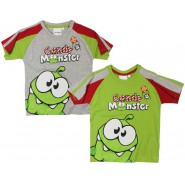 T-SHIRT Cut The Rope MAGLIETTA Candy Monster OM NOM Originale UFFICIALE Nuova