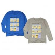 MINIONS Minion CLASS 2014 Maglietta T-Shirt Manica Lunga ORIGINALE Cattivissimo Me
