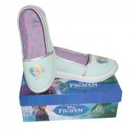 FROZEN Shoes BALLERINAS Blue ELSA Official DISNEY Sneakers CANVAS NEW