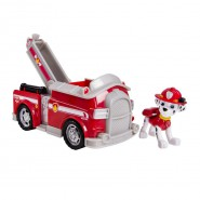 PAW PATROL Playset Veicolo MARSHALL FIRE FIGHTING Pompieri Scaletta SPIN MASTER BASIC New