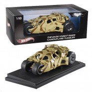 DARK KNIGHT RISES Modellino TUMBLER  Mimetico 1:18 BATMOBILE Hot Wheels