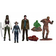 Set 4 Action Figures THE WALKING DEAD McFarlane Toys Series 7
