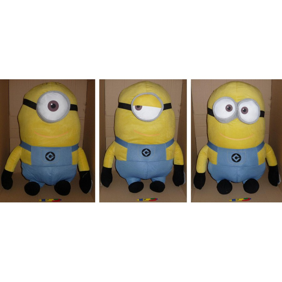 cattivissimo me 2 enorme peluche minion 90cm gigante originale minions apecollection. Black Bedroom Furniture Sets. Home Design Ideas