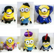 MINIONS MOVIE 2015 Plush XXXL MINION 75cm Enormous KEVIN BOB STUART Dressed