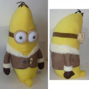 MINIONS MOVIE 2015 Peluche KEVIN Trasformato in BANANA Minion Antartide ENORME 70cm Originale UFFICIALE