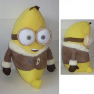 MINIONS MOVIE 2015 Peluche BOB Trasformato in BANANA Minion Antartide ENORME 60cm Originale UFFICIALE