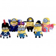MINIONS MOVIE 2015 Plush DRESSED MINION New 30cm Original OFFICIAL you choose