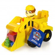 RUBBLE 's BULLDOZER Playset PAW PATROL BUILDING Blocks Spin Master