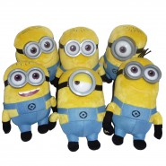 DESPICABLE ME Plush MINION 20cm TALKING Sound MINIONS Official you choose