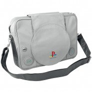 BORSA Tracolla SONY PLAYSTATION ONE PS1 35x30cm Ufficiale NINTENDO Postino