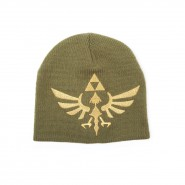 CAPPELLO Berretto THE LEGEND OF ZELDA Inverno UFFICIALE Golden Logo PELUCHE