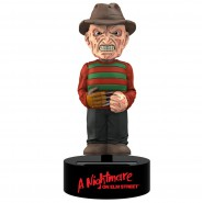 NIGHTMARE Figura FREDDY KRUEGER 16cm BODY KNOCKER Bobble NECA Energia Solare ELM STREET