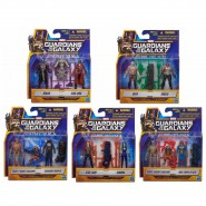 SET Figure Action GUARDIANI DELLA GALASSIA Mini 7cm HASBRO Marvel a scelta