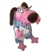 Courage Cowardly Dog PAJAMA Dress PLUSH 30cm ORIGINAL