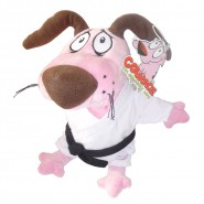Courage Cowardly Dog KARATE Karateka Dress PLUSH 30cm ORIGINAL