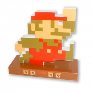 ALARM CLOCK Retro Pixel MARIO From SUPER MARIO BROS Originale TAITO Japan NINTENDO