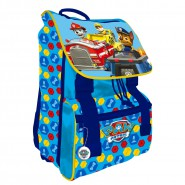 PAW PATROL Backpack EXTENSIBLE Yellow Blue 40x27cm ORIGINAL Official