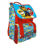 PAW PATROL Backpack EXTENSIBLE Red 40x27cm ORIGINAL Official