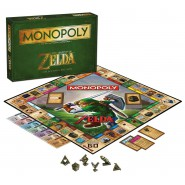 MONOPOLY Board Game LEGENDS OF ZELDA Version COLLECTORS EDITION Official HASBRO