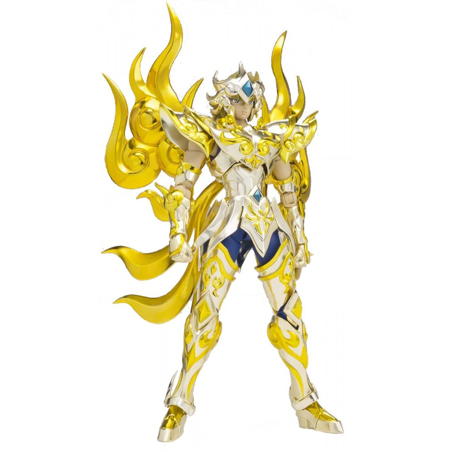 Saint seiya action figure leo aiolia lion myth cloth ex soul of gold 1st edition extra parts - Decor saint seiya myth cloth ...