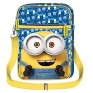 MINIONS MOVIE 2015 Borsa PORTA TABLET Occhiali 25x18x5cm ORIGINALE Disney Pixar