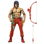 Action Figure 18cm RAMBO 8-bit Videogame Color NECA