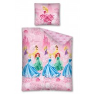 ANNA and ELSA Sisters Forever Bed Set FROZEN Disney DUVET COVER SET 100% Cotton