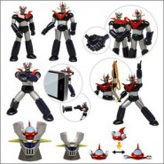 SET 5 Mini Robot MAZINGER e GRANDE MAZINGA Trading Figures TOMY Japan