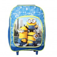 MINIONS MOVIE 2015 Mini Valigia TROLLEY New York 30x23x10cm ORIGINALE Disney Pixar BAG Minion