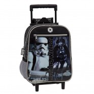 STAR WARS Zaino TROLLEY Mini Bambino 27x21cm Originale UFFICIALE Darth Vader Stormtrooper