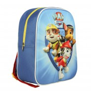 PAW PATROL Backpack 3D Puppets 30x24cm ORIGINAL Official SCHOOL