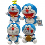 Plush DORAEMON Cat 25cm ORIGINAL Official NEW Film TV Cartoon DOLL