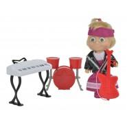 Bambola MASHA ROCK' N' ROLL Strumenti BAND 12cm Orso ORIGINALE Simba Toys
