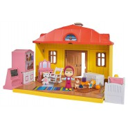 Playset MASHA 'S HOUSE With FIGURES Masha And The Bear ORIGINAL SIMBA