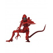 Figura Action Xenomorph Warrior ROSSO 18cm Neca ALIEN Serie 5 ORIGINALE