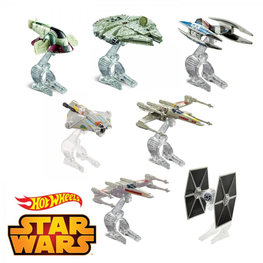 Star Wars Model Vehicle Space Ship Die Cast Hot Wheels