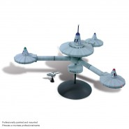 STAR TREK Model Kit K-7 SPACE STATION Metal Box AMT Enterprise SKILL 2