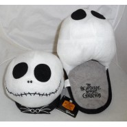 PAIR of SLIPPERS Soft Plush JACK SKELLINGTON from NIGHTMARE BEFORE XMAS CHRISTMAS NBX Newpan