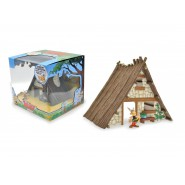 Asterix - La Casa di Asterix Diorama con Figura Plastoy