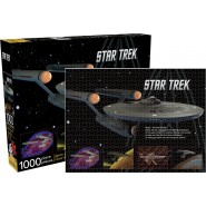 JIGSAW 1000pcs STAR TREK Space Final Frontier OFFICIAL Aquarius