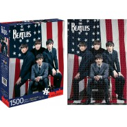 JIGSAW 1500pcs Beatles Flag NEW OFFICIAL Aquarius