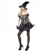 COSTUME Halloween SEXY STREGHETTA Adulto Donna Taglia Unica RUBIE'S Rubies Carnevale