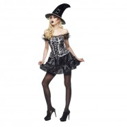 COSTUME Halloween SEXY WITCH Adult Unique Size Woman RUBIE'S Rubies Carnival