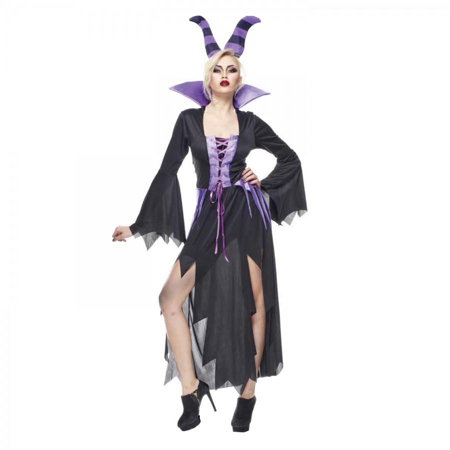 Vestiti Halloween Strega.Costume Halloween Strega Malvagia Adulto Donna Taglia Unica Rubie S Rubies Sexy Carnevale