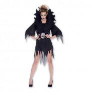 COSTUME Halloween DAMA HORROR Adulto Donna Taglia Unica RUBIE'S Rubies SEXY Carnevale