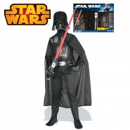 COSTUME Carnevale Deluxe DARTH VADER FENER in BOX Bambino TAGLIA S SMALL Star Wars RUBIE'S Star Wars