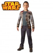 COSTUME Carnival FINN Child DELUXE 9/10 years Star Wars RUBIE'S