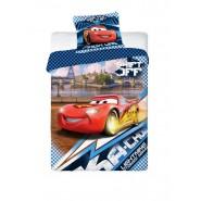 CARS Set Letto COPRIPIUMINO Singolo SHIFT OFF Saetta 160x200cm Disney